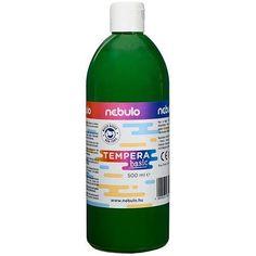 Akciós ! Ft Ár Nebuló tempera nagy kiszerelésben 500 ml - Zöld Ft Ár 690 Tempera, Wine, Bottle, Flask, Jars