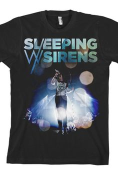 Concert Scream T-Shirts from Sleeping With Sirens