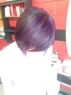 black/purple/cut