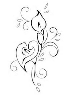 Lilly tat- but turn top lilly into shamrock