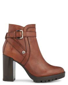 Boots - Floriane - Toutes les chaussures - La Collection chaussures - Marron - Noir