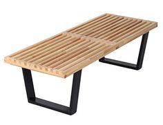 MCM George Nelson Style 4 Feet Platform Bench, Modern Cla... https://www.amazon.com/dp/B00S8ZUL1C/ref=cm_sw_r_pi_dp_x_c2ZpybGKGF434