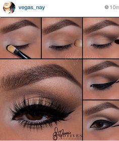 Me personally ...my eyes are way too big for this I'll look like a cartoon character or frog but if u have small or medium eyes that bottom eyeliner shape should look nice on you
