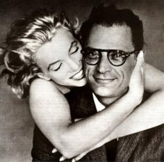 Marilyn Monroe & Arthur Miller, by Richard Avedon