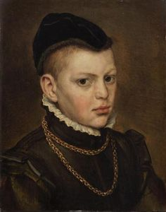 Young boy, 1553.