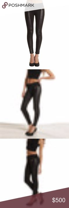 COMING SOON - LIKE THE LISTING TO BE NOTIFIED New Low-Waist Sexy Soild Black Skinny Patchwork Leather Leggings!  These are great to wear for any occasion look hot at work or a night out feel sexy where ever you go these will do the job! Fits True to Size full length leg & made of faux leather & cotton, easy care machine washable.  🌹BRAND NEW IN PACKAGE-BNIP 🌹HIGHEST QUALITY PRODUCTS 🌹SAME DAY SHIPPING 🌹NO TRADES/NO HOLDS 🌹OFFERS ACCEPTED THROUGH THE OFFER BUTTON Aprilas Boutique Pants…