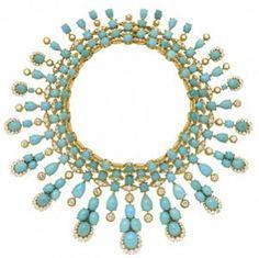 Van Cleef Arpels Turquoise necklace