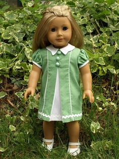 American Girl Doll Dress .... Vogue 7892
