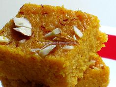 ...and a little bit more...: Microwave Mango Ricotta Kalakand - Back to blogging
