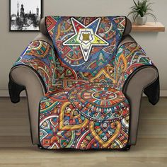 Sofa Protector, Wingback Chair, Stitch Patterns, Custom Design, Africa, Cozy, Pets, Stains, Furniture