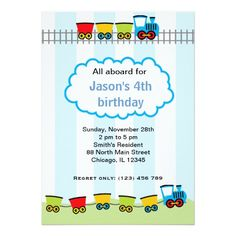 Sold this #train #birthday #vehicle #invitations to NJ.  Thanks for you who purchased this. Available too in different products