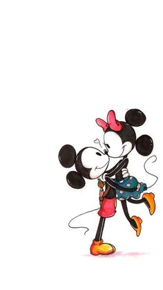 Tyeasha's Wall Collection — Mickey x Minnie Wallpaper (resized by me)