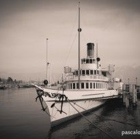 Bateau de la CGN Montreux, Steam Boats, Lake Geneva, Hunting