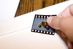Easy sticker fun with 35mm film! Stick them on ALL THE THINGS... diy-photo-projects