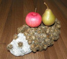 Poriadne pichľavý ježko Crochet Earrings