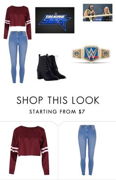 """""""Talking Smack - Calling Out The Miz and Maryse?"""" by fashionbabe-1738 ❤ liked on Polyvore featuring River Island and Zimmermann"""