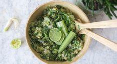 Recept voor een heerlijke Vegan Groene Rijstsalade