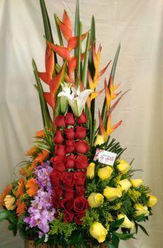 Productos – Floristeria la Maria Altar Decorations, Plants, Large Flower Arrangements, Tropical Flowers, Emperor, Floral Design, Flower Vases, Bouquets, Plant