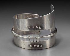 Ed Wiener, c 1954 American, 1918-1991 Silver Bracelet | Museum of Fine Arts, Boston