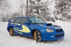 FINN – Subaru Impreza trackday-iskjøring-STI 2.5 6mt DCCD 2004, 81000 km, kr 139000,-