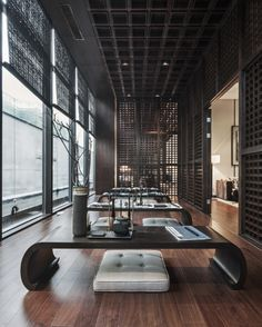 Modern Chinese Interior Design Interior Design That We Choose For You Modern Asian House Design In The Philippines Modern Chinese Interior, Japanese Interior Design, Modern Asian, Interior Design Kitchen, Interior Decorating, Asian Design, Japanese Restaurant Design, Chinese Restaurant, Design Hotel