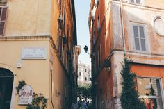 Streets of Rome, Italy -- The 25th Hour Studio