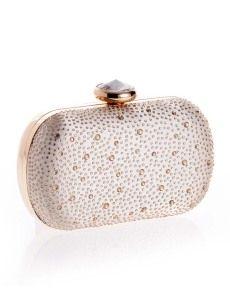 Product Name:Water Drop Rhinestone Evening Clutch / Pu / Pu Studded Purse, Studded Handbags, Pink Handbags, Wholesale Bags, Trendy Accessories, Cheap Bags, Evening Bags, Evening Clutches, Clutch Purse