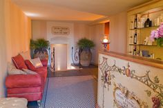 Entrance to the paradise ! Thesan spa @Relais Il Falconiere