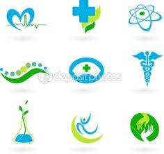 Coleção de ícones médicas — Ilustração de Stock #1779875
