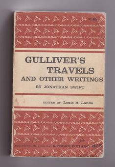 Gulliver's Travels by Jonathan Swift 1960s vintage trade paperback at AnemoneReadsVintage