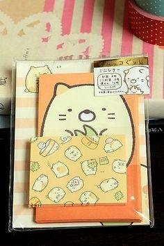 Japanese mini Kawaii Volume Letter Set - Sumikko Gurashi