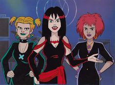 The Hex Girls <3 from Scooby Doo I'm gonna put this in TV since I watch Scooby Doo movies on TV....:D