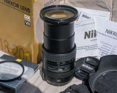 NIKON LENS 18-200mm ... Zoom #Nikon