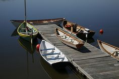 Sailing and rowing boats  by Lowell's Boat Shop