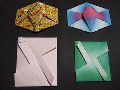 たとうのぽち袋 折り方2種