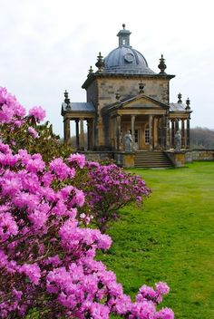 Castle Howard. Temple of the Four Winds. We had strawberries and cream there on a recent visit by The Henry Francis du Pont Collectors' Circle  http://patrickbaty.co.uk/2013/09/15/tour-of-english-country-houses/