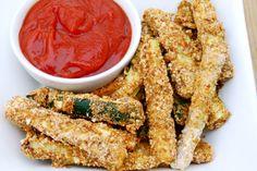 Baked Zucchini Fries (Gluten Free, Paleo)