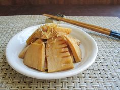 Never Cooked Bamboo Shoots (Takenoko)? Here's an Easy Japanese Recipe!: Simmered Bamboo Shoots (Takenoko No Nimono)