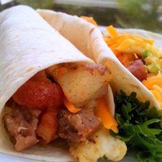 Tasty Breakfast Burritos - Allrecipes.com