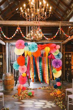 Decoración de tu ceremonia de matrimonio para el 2016: los mejores estilos y tendencias Image: 1