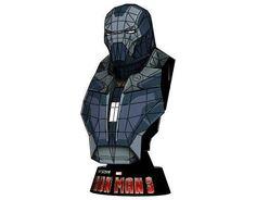 Iron Man Mark 40 (Mark XL) Shotgun Bust Free Papercraft Download - http://www.papercraftsquare.com/iron-man-mark-40-mark-xl-shotgun-bust-free-papercraft-download.html#Bust, #IronMan, #Mark40, #MarkXL, #Shotgun