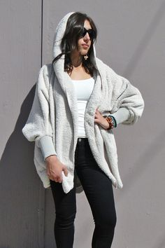 Super Plush Oversized Hooded Longsleeve Jacket  Back by demand! Find instore at Dreamgirls, and online at www.shopdreamgirls.com