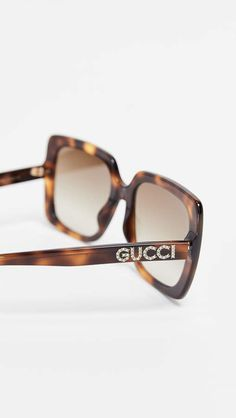 1c07816c70ddf Gucci Acetate Square Sunglasses Gucci Sunglasses