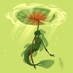 Some mermaids I made for mermay part 1 - Yoshi Yoshitani