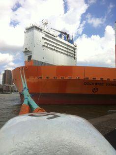 Dockwise Vanguard in Rotterdam