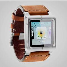 his iPod nano watch kit - by lunatik