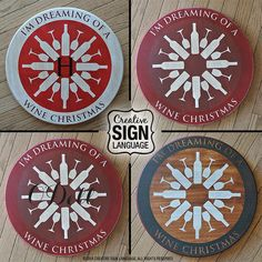 Sign language gifts for christmas