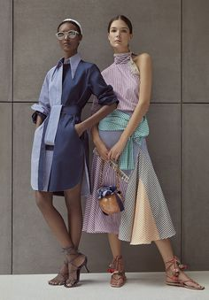 Inspired by the Coast of the Carribean, Silvia Tcherassi Spring Summer 2020 collection has an island-inspired feel about it. 2020 Fashion Trends, Spring Fashion Trends, Summer Trends, Fashion 2020, Fashion News, Fashion Outfits, Womens Fashion, Weird Fashion, Grunge Outfits