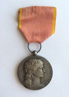 A French Silver Medal of the East Industrial от ScroogeShop