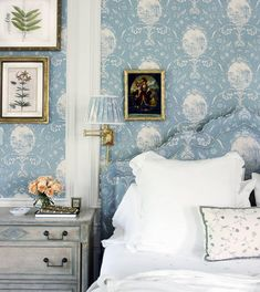 7f3e9ec14d16 A Classic Palm Beach Home by Leta Austin Foster. Exclusive HomesBeautiful  BedroomsBeautiful HomesHouse BeautifulBedding ...